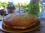 Saint Tropézienne birthday cake