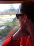 I do love a good train ride. All kinds of time to think.