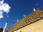 Rooftops of the Beaune hospice.