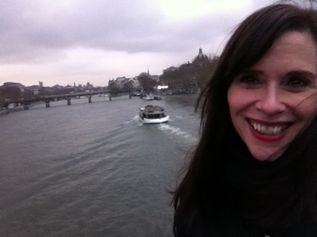 ...aaaaand my last day in Paris. Same sky almost, same clouds, same moody Seine. Only my hair color and the months seem to be different.