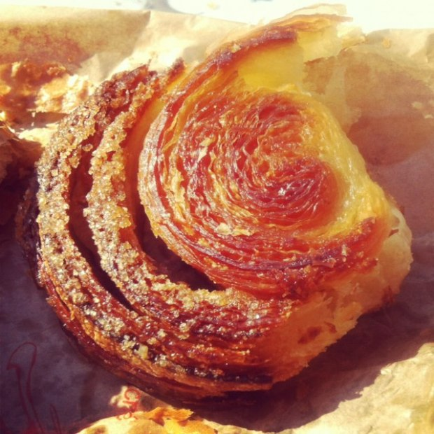 The kouign amann at Ble Sucre. Photo by me.